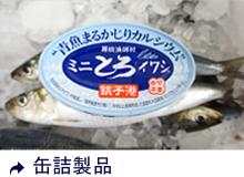 缶詰製品 (産直の魚缶)